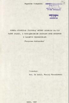 Geneza Syrphidae (Diptera) Wyżyny Łódzkiej na tle fauny Polski, z uwzględnieniem zespołów tych muchówek w badanych środowiskach : Rozprawa doktorska
