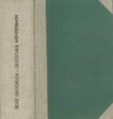 Deutsch-griechisches und Griechisch-deutsches Wörterbuch für den Schul- und Handgebrauch Bd. 1-2