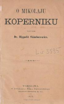 O Mikołaju Koperniku
