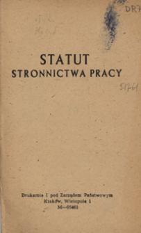 Statut Stronnictwa Pracy