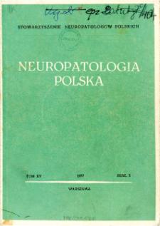 Neuropatologia Polska T.15 z.3(1977)