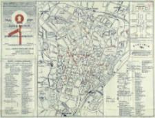 Mały plan miasta Szczecina i przewodnik po urzędach