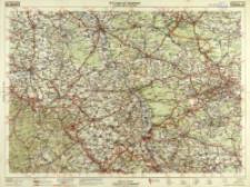 B.Z.-Auto-Karte. 44, Gleiwitz : Oppeln, Neise, Ratibor, Beuthen, Kattowitz