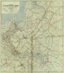 Specjalna mapa kolejowa Polski : z wyszczególnieniem wszystkich linij kolejowych szerokotorowych, dwutorowych, jednotorowych oraz wszystkich bez wyjątku stacyj