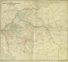 Karte der Deutschen Siedlungen in Mittelpolen : Maßstab 1:500 000