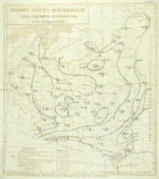 Mapa śniegowo-turystyczna z dn. 17 stycznia 1935 r.