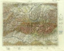 Tatry : Arkusz zbiorowy : Pas 51-52 Słup 29-30 : Chyżne - Zakopane - Tatry Zachodnie i Wysokie
