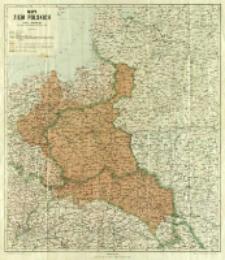 Mapa ziem polskich
