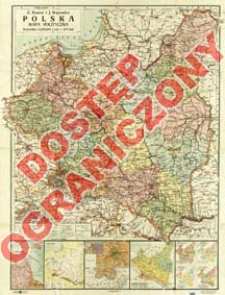 Polska : mapa polityczna