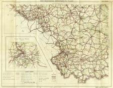 Mapa samochodowa Rzeczypospolitej Polskiej : podziałka 1:800.000. Łódż - Kraków