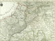 Topographisch - Militaerische Karte vom vormaligen Neu Ostpreussen oder dem jetziger Nördlichen Theil des Herzogthums Warschau nebst dem Russischen District [...]. Sect. 5