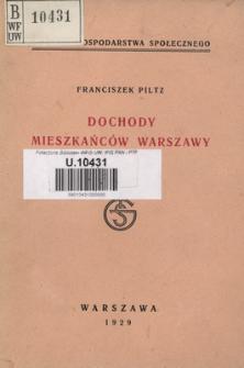 Dochody mieszkańców Warszawy