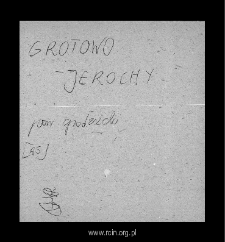 Jarochy. Files of Grojec district in the Middle Ages. Files of Historico-Geographical Dictionary of Masovia in the Middle Ages