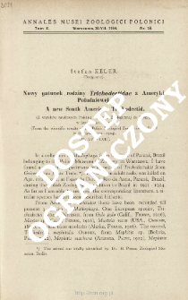 A new South American Trichodectid : from the scientific results of the Polish Zoological Expedition to Brazil in the years 1921-1924