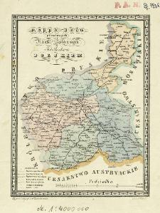 Mappa dróg pocztowych i rzek spławnych w Królestwie Polskiem