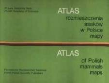 Atlas of Polish mammals maps