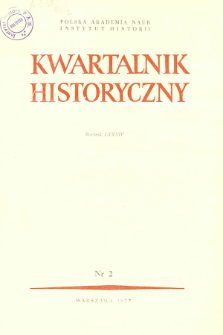 Kwartalnik Historyczny R. 84 nr 2 (1977), In memoriam