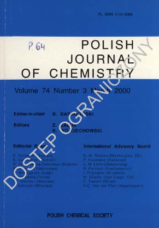 Interaction of ethanol with alumina, silica - alumina and zeolites