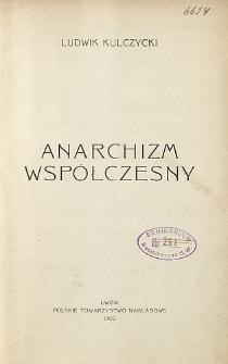 Anarchizm współczesny