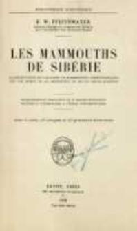 Les mammouths de Siberie