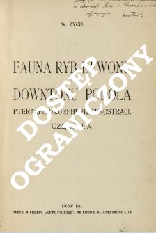 Fauna ryb dewonu i downtonu Podola : Pteraspidomorphi: Heterostraci . 1 A