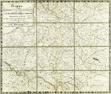 Mappa Królestwa Polskiego z wszelkiemi prowincyami przed rozbiorem do niego nalezacemi