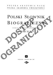 Straus Stefan Bolesław - Strowski Fortunat Joseph