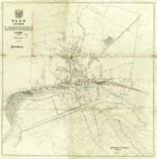 Plan der Stadt Landsberg (Warthe) : 1:10 000