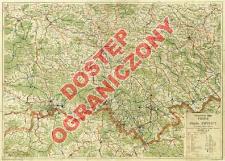 Szczegółowa mapa Pienin i okolic Krynicy : dla turystyki letniej i zimowej