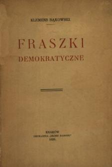 Fraszki demokratyczne