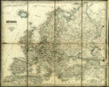 Europa : ułożona podług najnowszych mapp