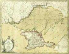 Crimeae seu Chersonesus Tauricae item Tataria Nogayae Europaeae Tabula Geographica