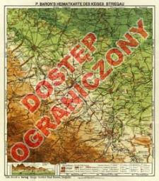 P. Baron's Heimatkarte des Kreises Striegau