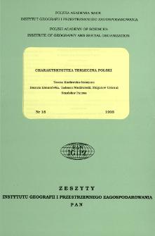 Charakterystyka termiczna Polski = Thermal characteristic of Poland