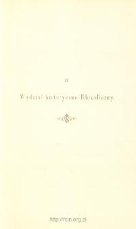 Sprawozdania z Posiedzeń, Wydział historyczno-filozoficzny. Rok 1893
