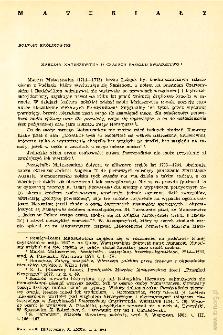 Kwartalnik Historyczny R. 75 nr 2 (1968), Materiały