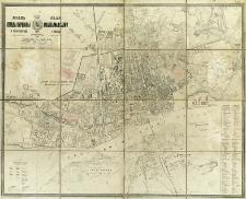 Plan goroda Varšavy i okrestnostej = Plan miasta Warszawy i okolic