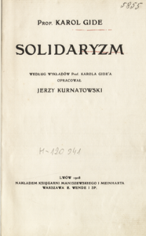 Solidaryzm