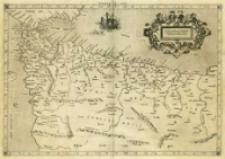 Africae Tabvla I Continet ambas Mauritanias, Tingitanam & Cæsariensem