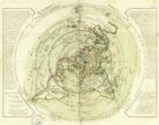 Planisphere Physique où l'on voit du Pole Septentrional [...]