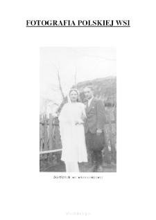 [A newly married couple in front of the rural hut] [An iconographic document]