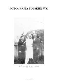 [A newly married couple and groomsmen in front of the hut] [An iconographic document]
