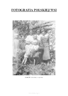 [A portrait of a family in the garden] [An iconographic document]