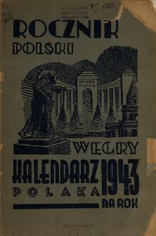 Kalendarz Polaka na Węgrzech na Rok 1943