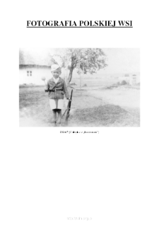 """[A boy with a """"rifle'] [An iconographic document]"""