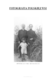 [Two elderly women with a child] [An iconographic document]