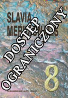 Slavia Meridionalis : studia linguistica slavica et balcanica. T. 8 (2008)