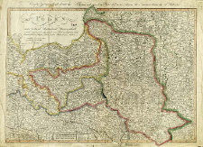 Polen unter Oesterreich, Russland und Preussen getheilt nebst den angrenzenden Laendern als einen Theil von Russischen Reich, Curland, Pommern, Preussen, Schlesien, Sachsen, Böhmen und Maehren