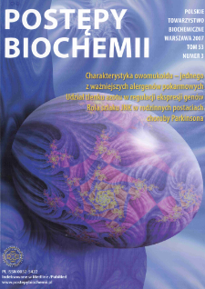 Postępy biochemii, Tom 53, Nr 3