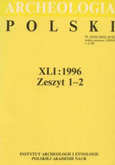 Zastosowanie rentgenowskiej analizy fluorescencyjnej do określania stężenia pierwiastków w szkle zabytków celtyckich z Polski